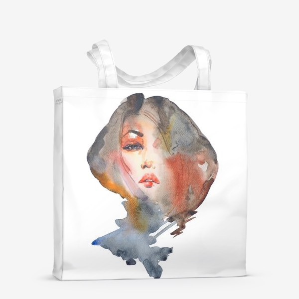 Сумка-шоппер «Модная прическа»