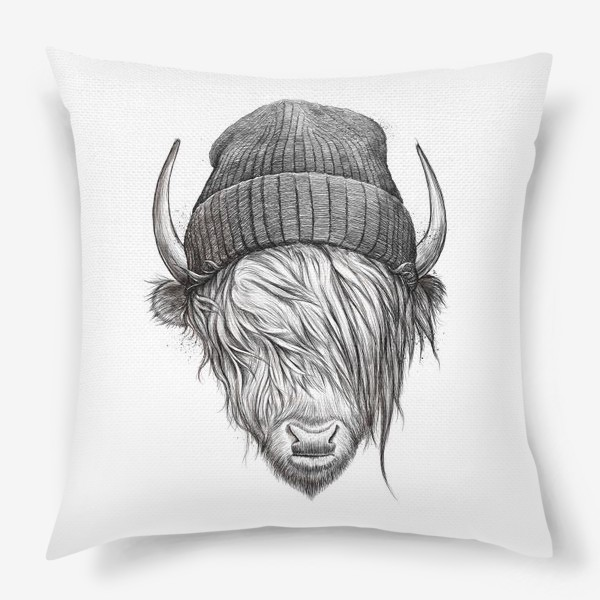 Подушка «Шотландский бык»