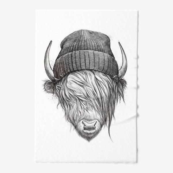 Полотенце «Шотландский бык»