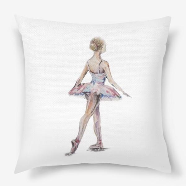 Подушка «маленькая балерина»