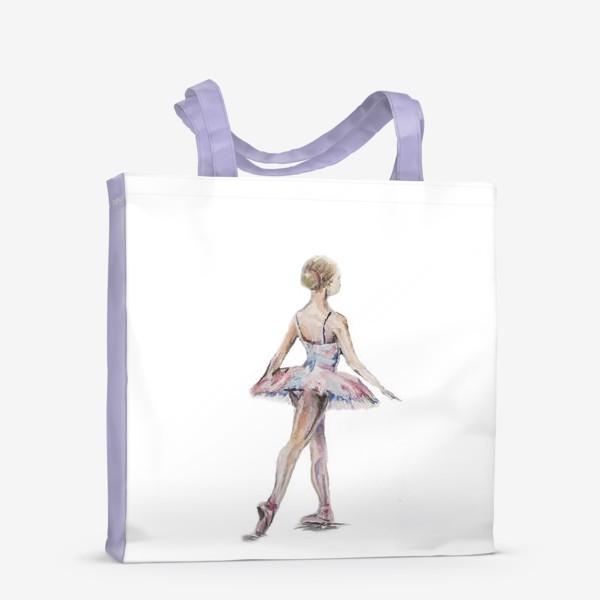 Сумка-шоппер «маленькая балерина»