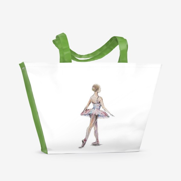 Пляжная сумка «маленькая балерина»