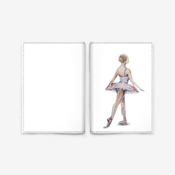 Обложка для паспорта «маленькая балерина»