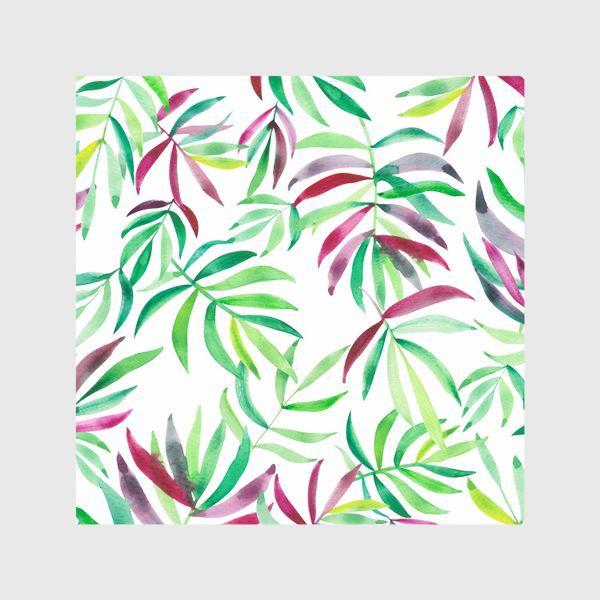Шторы «Акварельные тропики. Листья»