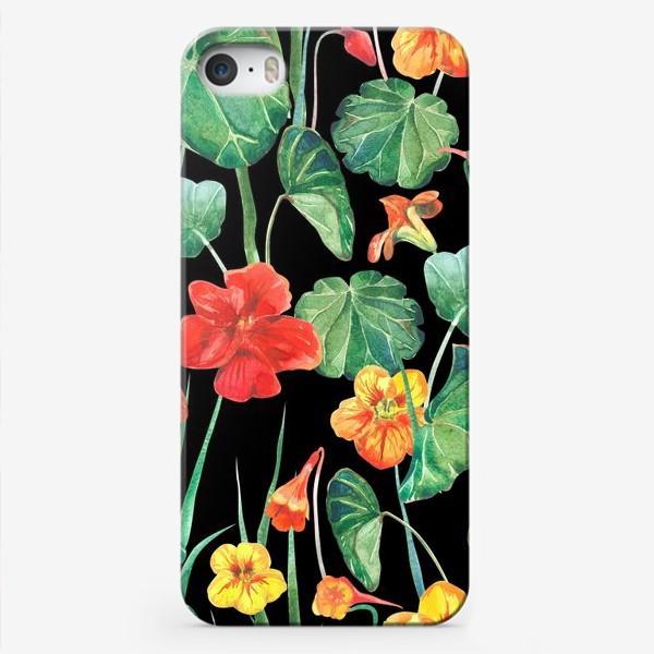 Чехол iPhone «Настурции»