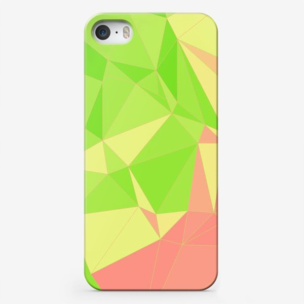 Чехол iPhone «Треугольники»