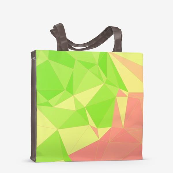Сумка-шоппер «Треугольники»