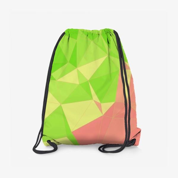 Рюкзак «Треугольники»