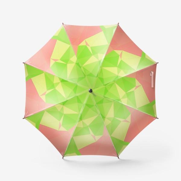 Зонт «Треугольники»