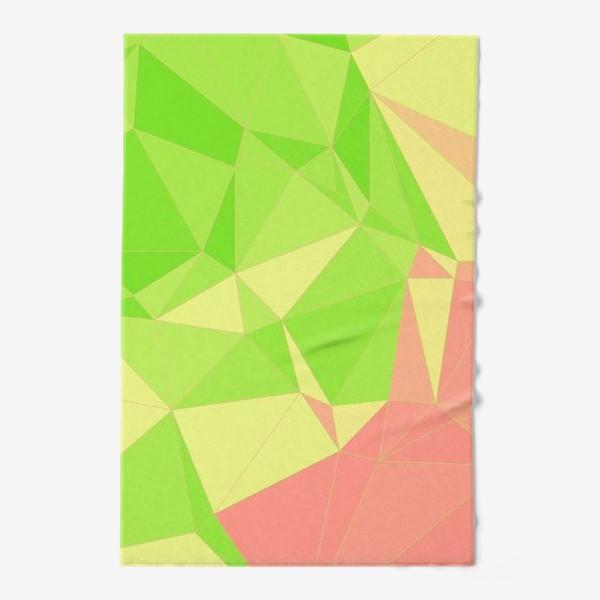 Полотенце «Треугольники»