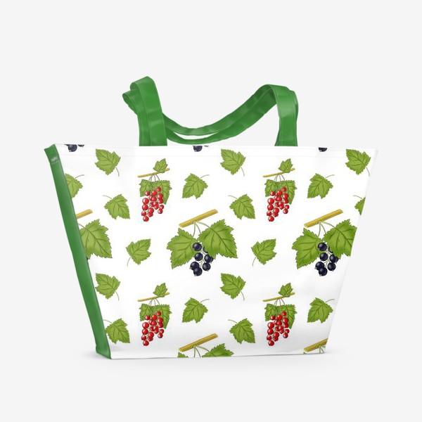 Пляжная сумка «Смородинка»