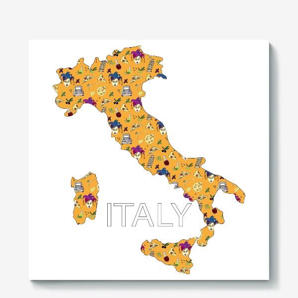 Холст «Италия»