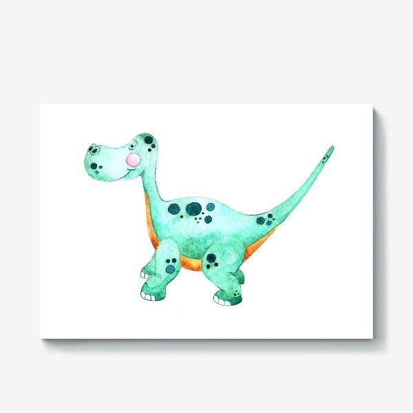Холст «Little Dino »