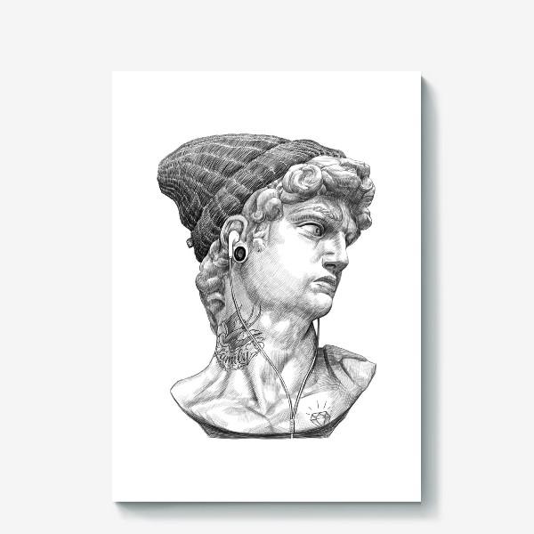 Холст «Бюст Давида»