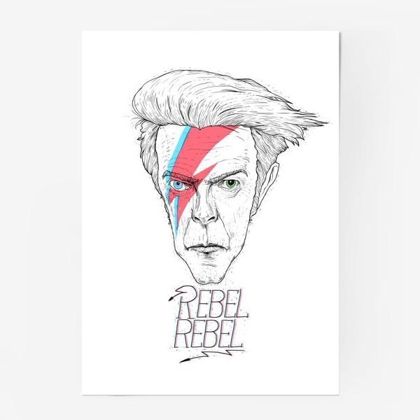 Постер «Дэвид Боуи»