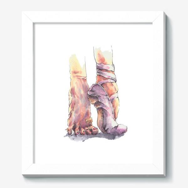 Картина «Балетные ножки»