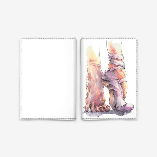 Обложка для паспорта «Балетные ножки»