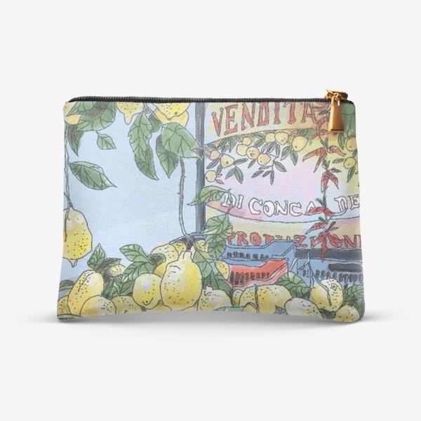 Косметичка «Итальянские лимоны(цвет)»