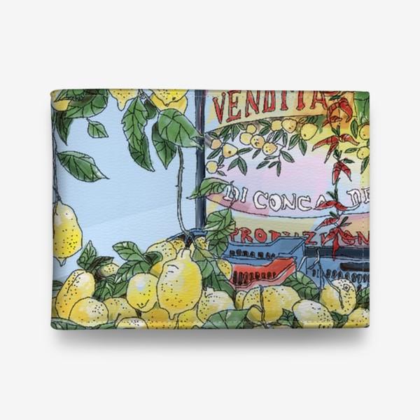 Кошелек «Итальянские лимоны(цвет)»