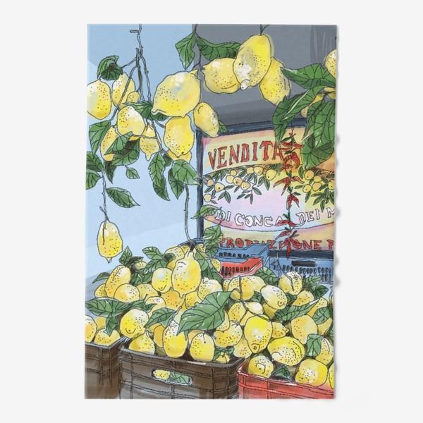Полотенце «Итальянские лимоны(цвет)»