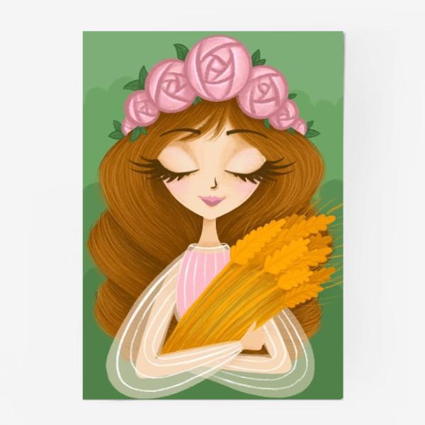 Постер «Дева by Ance»