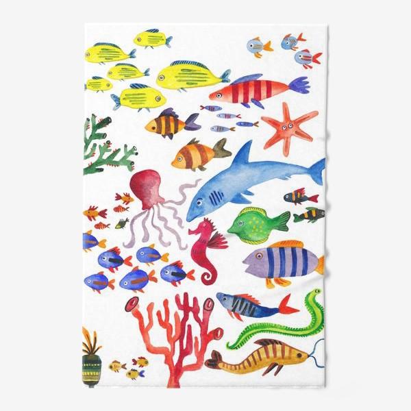 Полотенце «Рыбы. Подводный мир»
