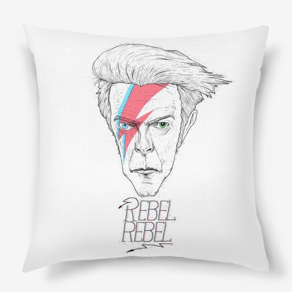 Подушка «Дэвид Боуи»
