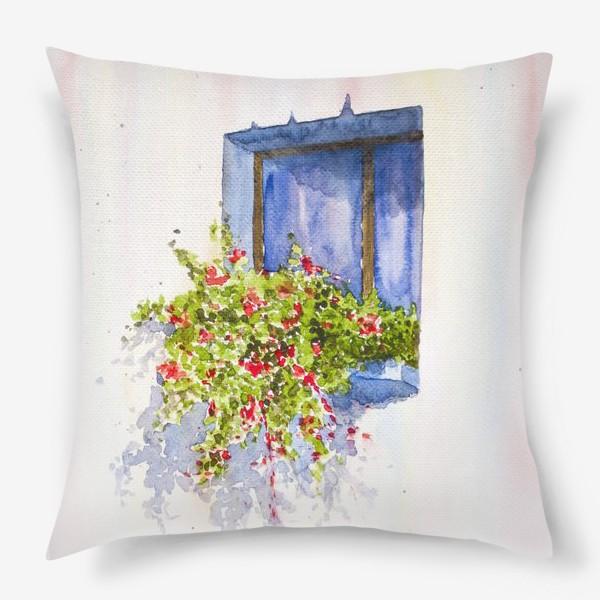 Подушка «Окно во двор»