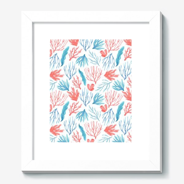 Картина «Яркие кораллы и водоросли»