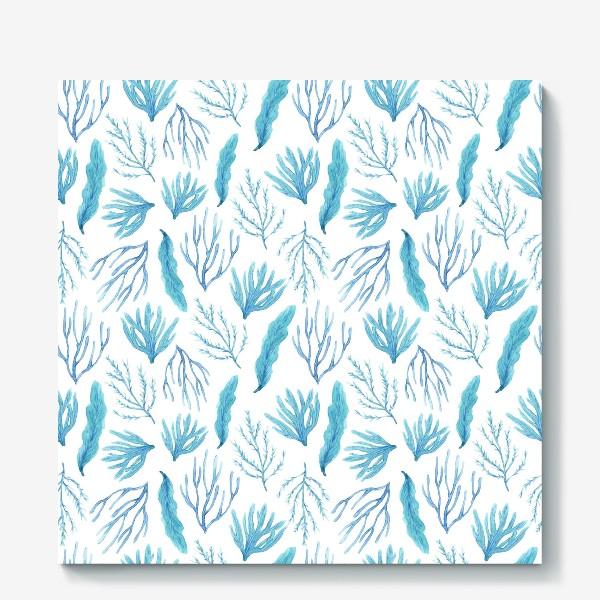 Холст «Сине-зеленые водоросли»
