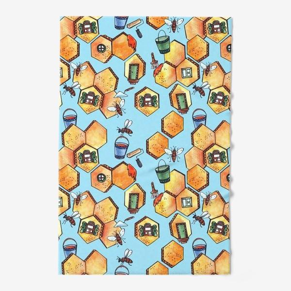 Полотенце «Пчелы и соты»