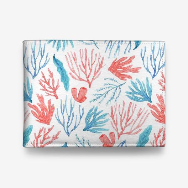 Кошелек «Яркие кораллы и водоросли»