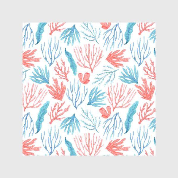 Скатерть «Яркие кораллы и водоросли»