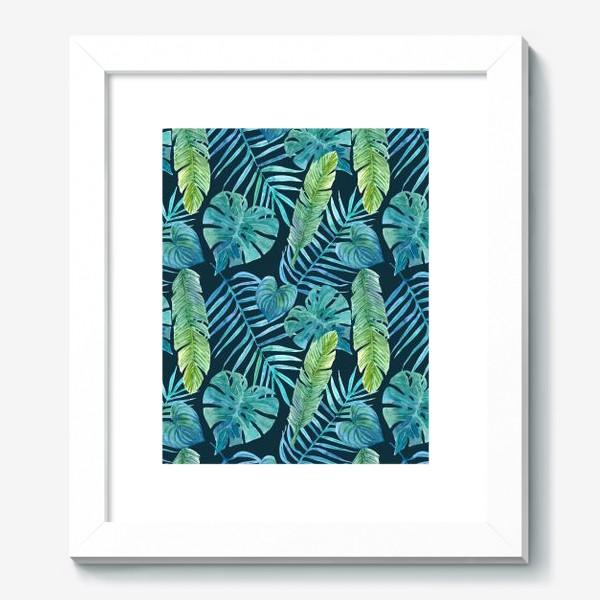 Картина «Акварельные тропики»