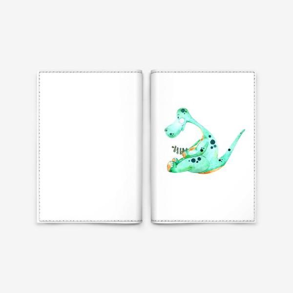 Обложка для паспорта «Little Dino»