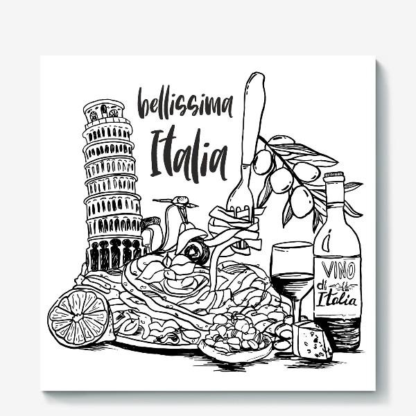 Холст «Bellissima Italia»