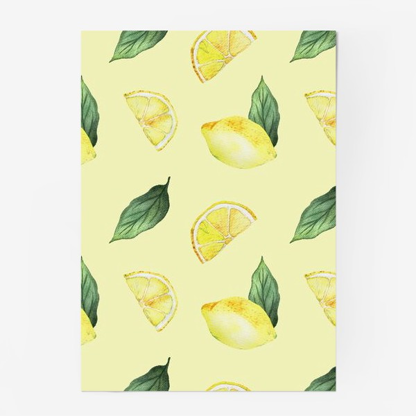 Постер «Сочные Лимоны»