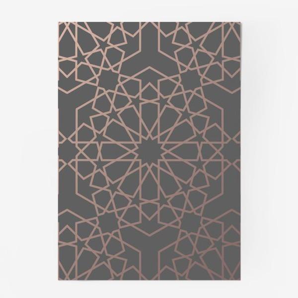 Постер «арабский паттерн»