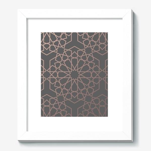 Картина «арабский паттерн»
