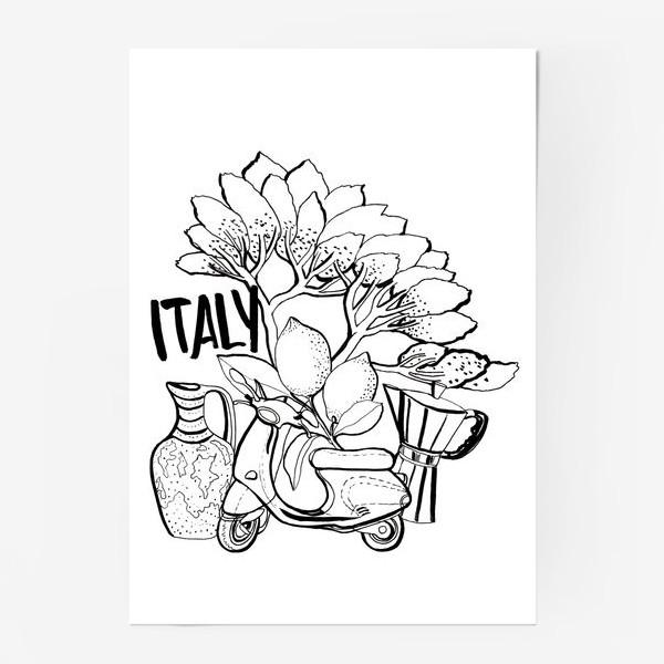 Постер «Юг Италии»