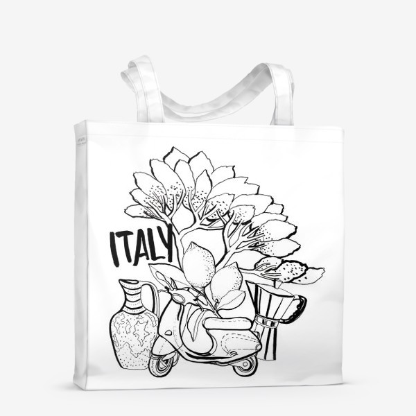 Сумка-шоппер «Юг Италии»