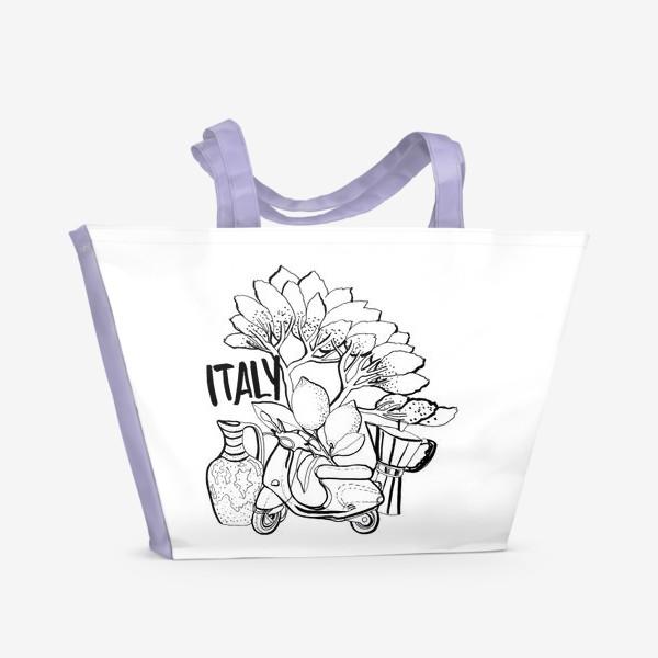 Пляжная сумка «Юг Италии»
