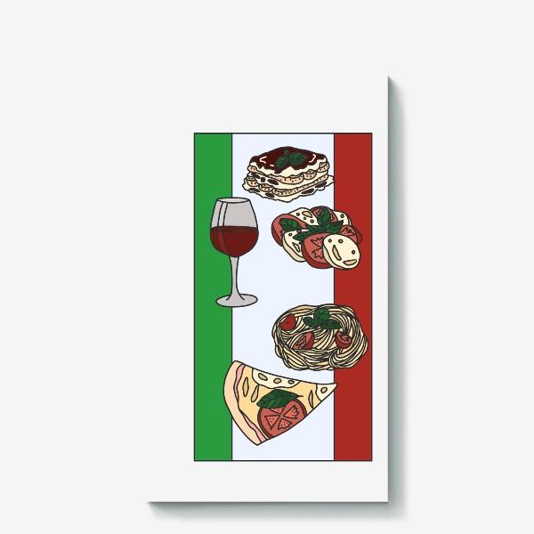 Холст «Италия в цвете»