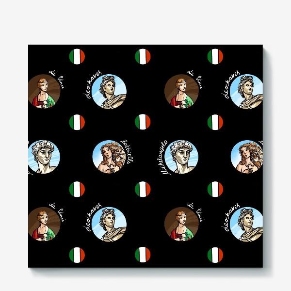 Холст «Искусство Италии»