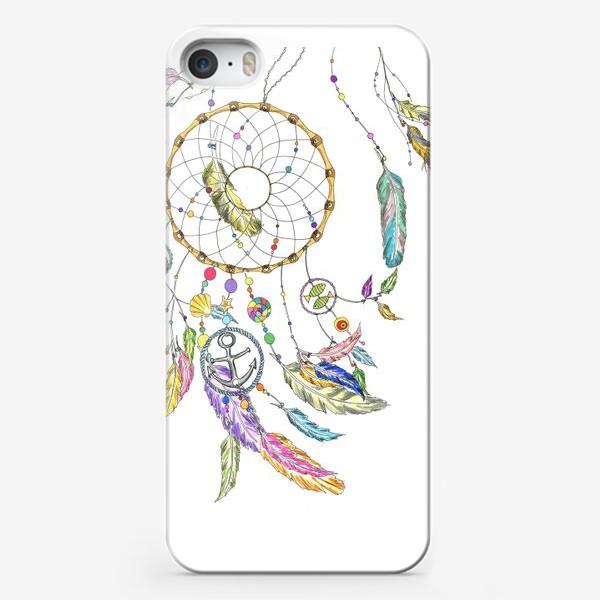 Чехол iPhone «Ловец снов на белом»