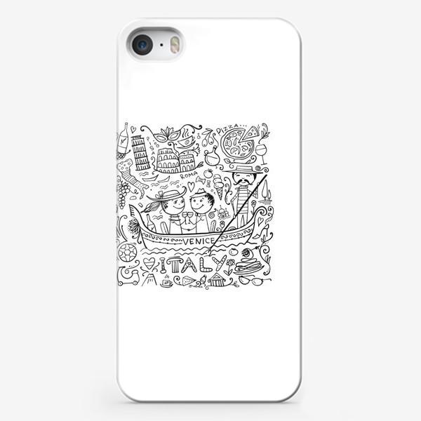 Чехол iPhone «Раскрась Италию!»