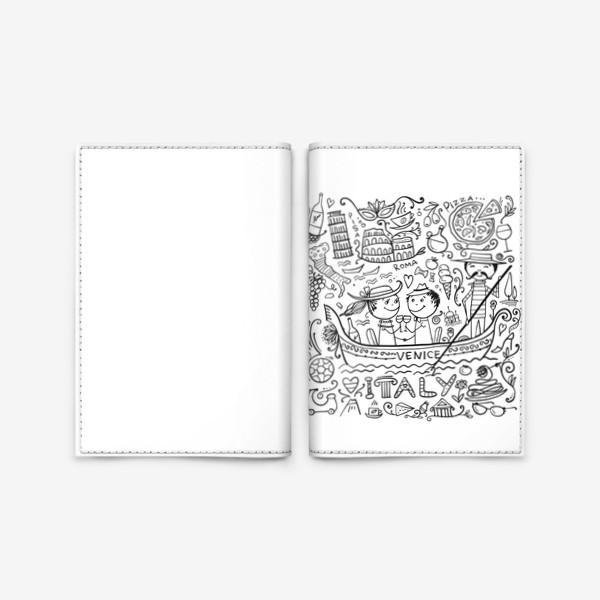 Обложка для паспорта «Раскрась Италию!»