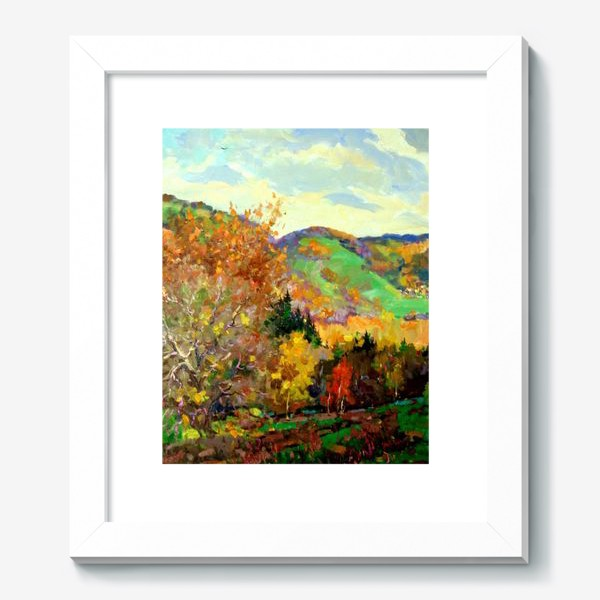 Картина «Осень в Жигулях»