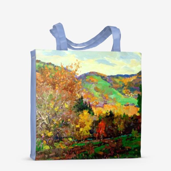 Сумка-шоппер «Осень в Жигулях»