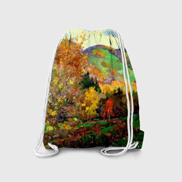 Рюкзак «Осень в Жигулях»